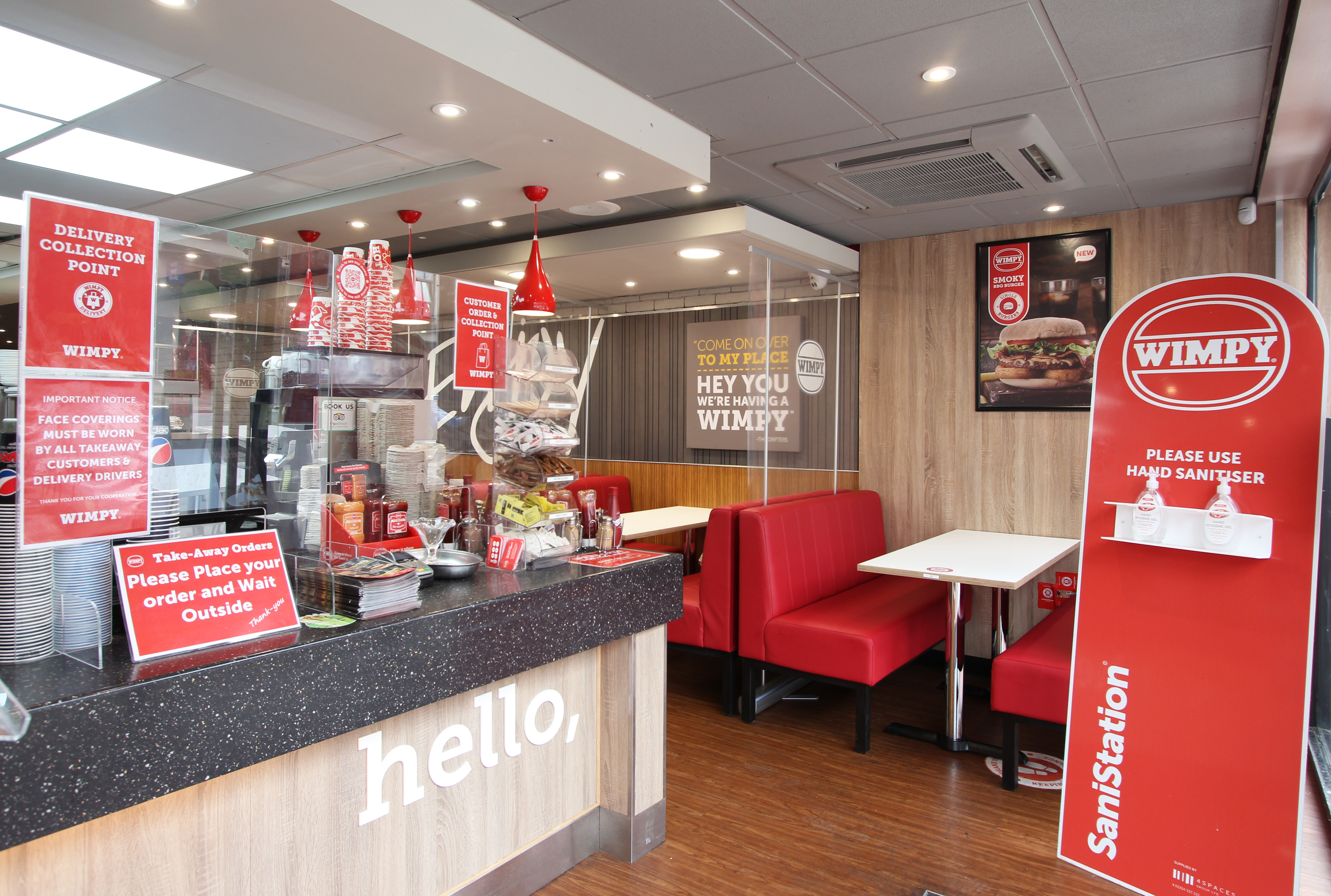 A warm welcome awaits at the new-look Wimpy Colchester